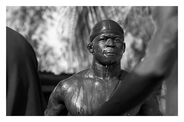 Mandinka Wrestler, The Gambia