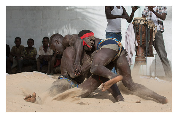 Mandinka Wrestlers, The Gambia