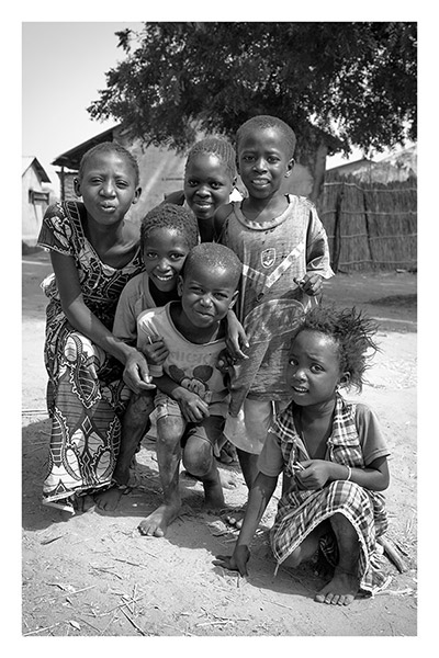 Village Kids, Upcountry, The Gambia