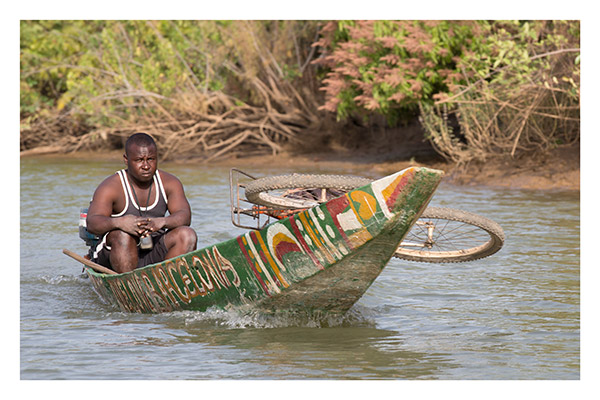 Upcountry on the Gambia River