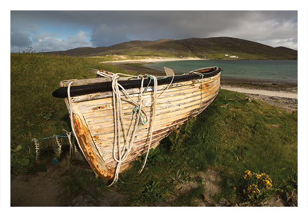 Fishing boat, Vatersay Bay