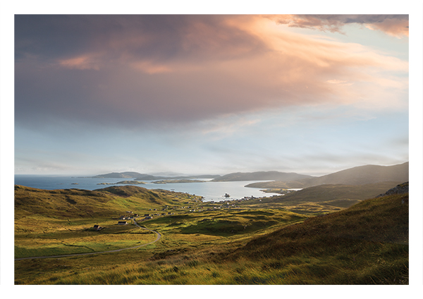 Castlebay from Heaval, Barra & Vatersay