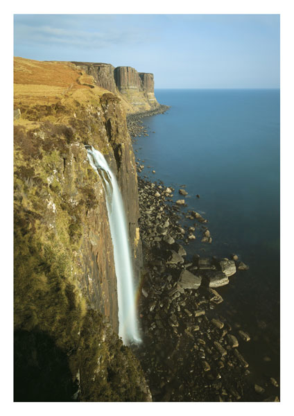 Mealt Falls and Kilt Rock, Skye