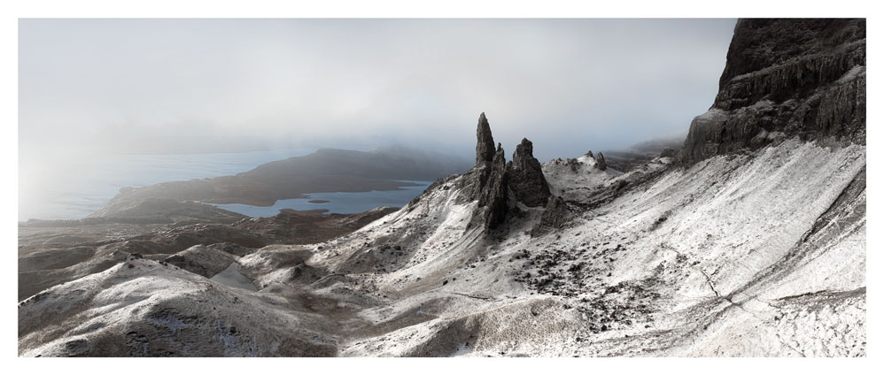 Old Mann of Storr Panorama, Skye