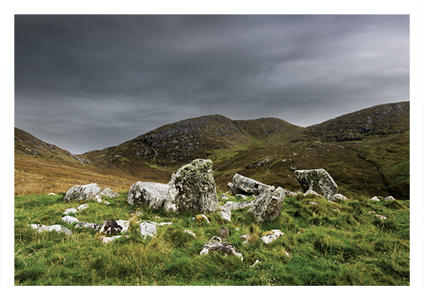 Ruins of Balnacraig chambered cairn, Barra