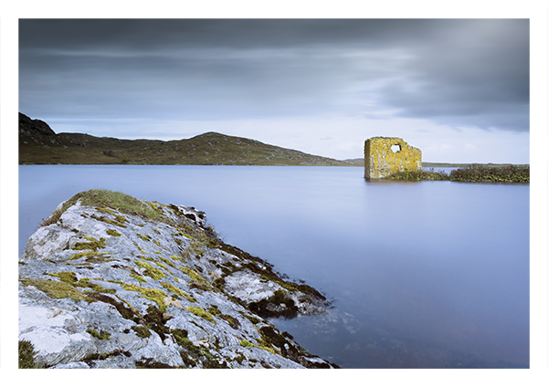 Macleod's Tower, Loch Tangasdale, Barra