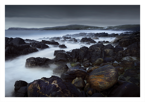 Rocky headland, west coast, Barra