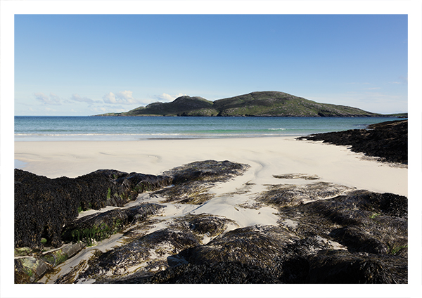 South Bay, looking towards Sandray, Vatersay