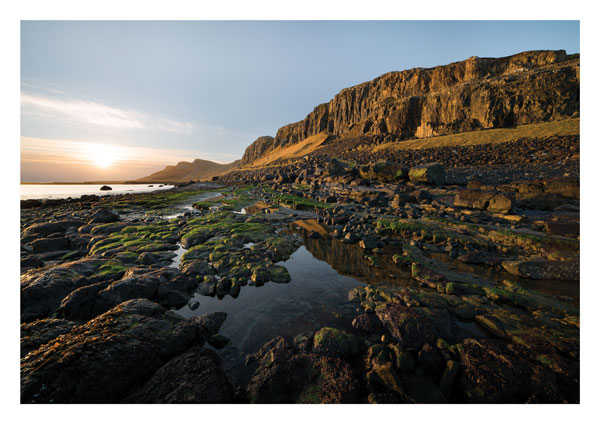 Staffin Bay, Skye