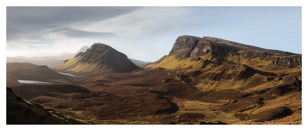 Trotternish Ridge Panorama, Skye